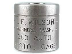 L.E. Wilson Max Cartridge Gage 380 ACP