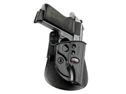 Fobus Evolution Paddle Holster Right Hand Walther PPK Polymer Black