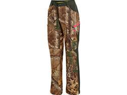 Under Armour Women's ColdGear Infrared Scent Control Speed Freak Pants Polyester Realtree Xtra Camo Size 16