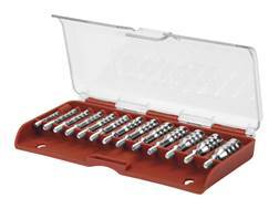 Tipton Ultra Cleaning Jag Set 12-Piece Threaded Nickel Plated Brass