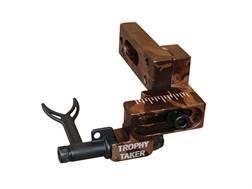 Trophy Taker Pronghorn Short Bar Drop-Away Arrow Rest Right Hand Aluminum Camo