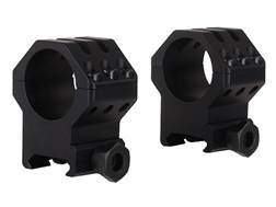 """Weaver 1"""" Tactical 6-Hole Picatinny-Style Rings Matte X-High"""
