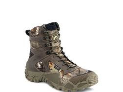 "Irish Setter VaprTrek 8"" Waterproof Uninsulated Hunting Boots Nylon and Leather Brown and Realtree Xtra Camo Men's"