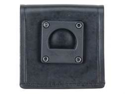 Gould & Goodrich B653 Radio Holder Swivel Adapter Leather Black