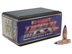 Barnes Tipped Triple-Shock X Bullets 375 Caliber (375 Diameter) 250 Grain Spitzer Boat Tail Box of 50