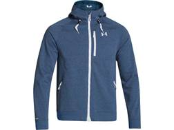 Under Armour Men's ColdGear Infrared Dobson Softshell Jacket Synthetic Petrol Blue XXL 50-52