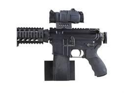 Plastix Plus AR-15 Horizontal Wall Mount Plastic Black