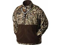 Drake LST Men's Heavyweight Eqwader 1/4 Zip Jacket Polyester