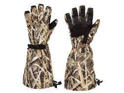 Drake Men's LST Double Duty GORE-TEX Waterproof Insulated Decoy Gloves Polyester Mossy Oak Shadow Grass Blades Camo XL