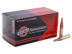 Black Hills Ammunition 5.56x45mm NATO 69 Grain Sierra MatchKing Hollow Point