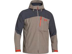 Under Armour Men's Armourstorm Admiral Rain Jacket Polyester Taupe XXL 50-52