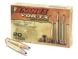 Barnes VOR-TX Ammunition 280 Remington 140 Grain Tipped Triple-Shock X Bullet Boat Tail Lead-Free Box of 20