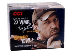 CCI Maxi-Mag Ammunition 22 Winchester Magnum Rimfire (WMR) Troy Landry Special Edition 40 Grain Jacketed Hollow Point Box of 200
