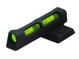 HIVIZ Front Sight S&W M&P22 Steel Fiber Optic with 6 Interchangeable Lite Pipes