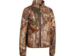 Under Armour Youth ColdGear Infrared Scent Control Jacket Polyester Realtree Xtra Camo