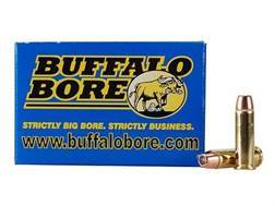 Buffalo Bore Ammunition 38 Special 125 Grain Jacketed Hollow Point Box of 20