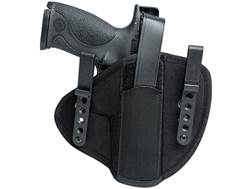 Uncle Mike's IWB Tuckable Holster Ambidextrous Glock 17, 19, S&W M&P, Springfield Armory XD Nylon Bl