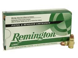 Remington UMC Ammunition 357 Sig 125 Grain Full Metal Jacket
