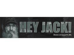 "Duck Dynasty ""Hey Jack"" Bumper Sticker"