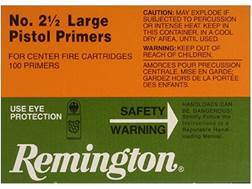 Remington Large Pistol Primers #2-1/2 Case of 5000 (5 Boxes of 1000)