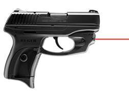 LaserMax Centerfire Red Laser Sight Ruger LC9/LC380 Black