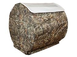 Beavertail Bale Blind Snow Roof Cover for Outfitter Blind 600D Fabric