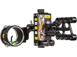 "Trophy Ridge React-One Pro 1-Pin Bow Sight with Light .019"" Pin Diameter Right Hand Black"