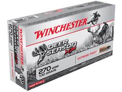 Winchester Deer Season XP Ammunition 270 Winchester Short Magnum (WSM) 130 Grain Extreme Point Polymer Tip