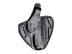 Beretta Pancake Belt Holster Right Hand Beretta PX4 Storm Full Size 9mm, 40 S&W Leather Black