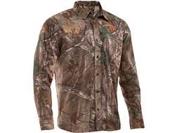 Under Armour Men's Performance Field Shirt Long Sleeve Polyester Ripstop Realtree Xtra Camo Medium 38-40
