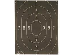 NRA Official Action Pistol Targets Repair Center B-18C 50 Yard Rapid Fire Paper Package of 100