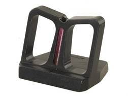 NECG See-Thru Rear Sight Blade with Red Fiber Optic