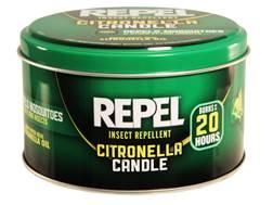Repel Insect Repellent Citronella Candle 10 oz Green