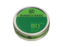 RWS Diabolo Airgun Pellets 177 Caliber 7.0 Grain Flat Nose Tin of 500