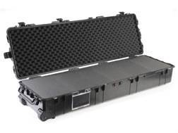 "Pelican 1770 Scoped Rifle Case with Pre-Scored Foam Insert and Wheels 57"" Polymer Black"
