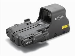 EOTech 552 Holographic Weapon Sight 65 MOA Circle with 1 MOA Dot Reticle with Infrared Laser Battery Cap Matte AA Battery