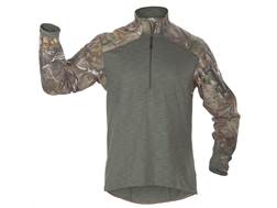 5.11 Men's Realtree Rapid Response Quarter-Zip Shirt Long Sleeve Synthetic Blend Realtree Xtra Camo