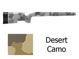 McMillan A-5 Rifle Stock Remington 700 BDL Long Action Varmint Barrel Channel Fiberglass Molded-In Desert Camo Semi-Inletted