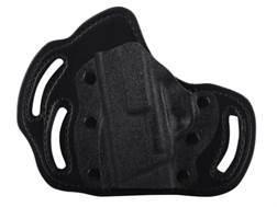 DeSantis Intimidator Belt Holster Left Hand S&W Bodyguard 380 Kydex and Leather Black
