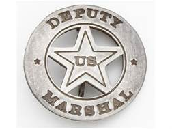 Collector's Armoury Replica Old West Railroad Deputy US Marshal Round Badge