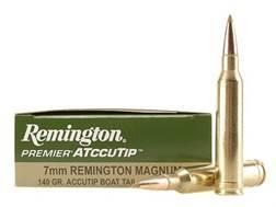 Remington Premier Ammunition 7mm Remington Magnum 140 Grain AccuTip Box of 20