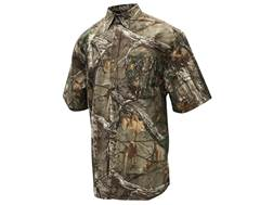 Browning Men's Wasatch Lite T-Shirt Short Sleeve Cotton Realtree Xtra