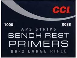 CCI Large Rifle APS Bench Rest Primers Strip #BR2