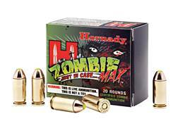 Hornady Zombie Max Ammunition 40 S&W 165 Grain Z-Max Flex Tip eXpanding Box of 20