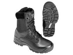 """5.11 ATAC Storm 8"""" Waterproof Uninsulated Tactical Boots Leather and Nylon Side Zip Black Men's 9.5 EE"""