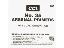 CCI 50 BMG Primers #35