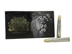 Nosler Safari Ammunition 505 Gibbs 525 Grain Solid Box of 10