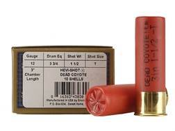 "Hevi-Shot Dead Coyote Ammunition 12 Gauge 3"" 1-1/2 oz T Hevi-Shot Box of 10"