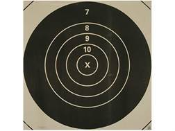 NRA Official High Power Rifle Targets Repair Center MR-1C 600 Yard Slow Fire Paper Pack of 50