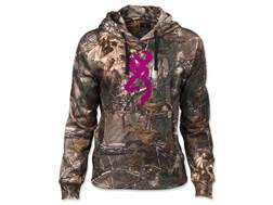 Browning Women's Wasatch Performance II Hoodie Polyester Realtree Xtra Medium